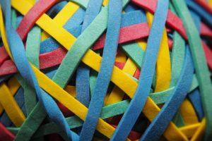 Articoli in gomma e plastica